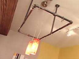 Kitchen Pot Rack Clever Kitchen Ideas Industrial Pot Rack Hgtv