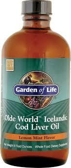 dsave garden of life olde world icelandic cod liver oil lemon mint