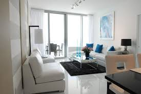 image lizard management add a small black rug to a predominantly white décor for a strong impact