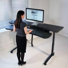 Ergonomic Computer Desk Table Delightful Ergonomic Height Adjustable Computer Standing