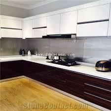 nano crystallized pure white stone hotel decoration kitchen countertop work top