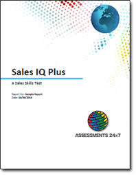 Sales Iq Plus Assessment Sales Training Test Get Started Now