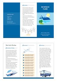 Company Brochure Example Transportation Brochure Free Transportation Brochure Templates