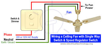 how to wire a ceiling fan dimmer