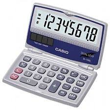 basic calculators  casio inc sl100l standard function calculator