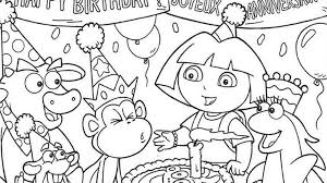 Birthday invitations, baby shower invitations, party packages, birth announcements, holiday cards, thank you cards and more all designed by me! 25 Free Printable Happy Birthday Coloring Pages
