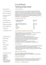 Sample Teacher Assistant Resume Teacher Assistant Resume Examples Top Free Teaching Assistant Cover