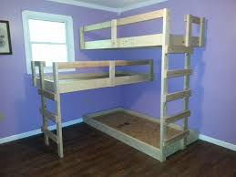 Making bunk beds Kids Diy Triple Bunk Bed The Ownerbuilder Network Diy Triple Bunk Bed The Ownerbuilder Network