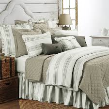 delectably yours com prescott taupe stripe duvet bedding collection by hiend accents