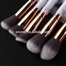 marble makeup brushes. 2017 marble makeup brushes 10 piece brush collection set kabuki 10pcs