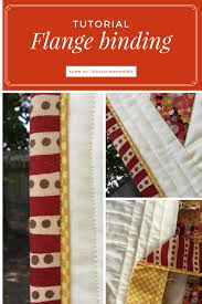 Video tutorial: Flange binding or adding faux piping to your quilt ... & Video tutorial: Flange binding or adding faux piping to your quilt binding Adamdwight.com