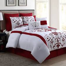 bedding red black and gray bedding sets bright red bedding cotton comforter sets grey red comforter luxury comforter sets queen black