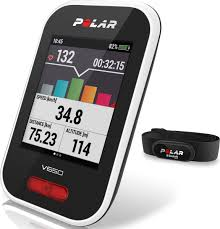 "<b>Велокомпьютер Polar</b> ""<b>V650 HR</b>"", с интегрированным GPS ..."