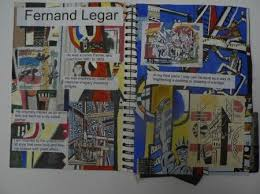 idea draw a copy of the artists s work to use as a background gcse art sketchbooksketchbook