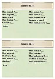 chili cook off judging sheet halloween judging sheets fun for christmas