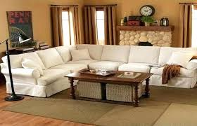 pottery barn leather couch for endearing sectional sofa terrific townsend scratches