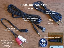subaru legacy liberty outback bl bp i transplant aux harness is335 aux cable kit panel mount 3 5mm jack