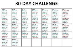 Weight Loss Calendar Day Fix Calendar 30 Workout Printable Glotro Co