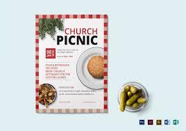 Church Picnic Flyer Template