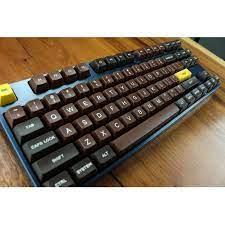 MP Çikolata Boyama 123 TUŞLARı SA PBT Klavye Yazı Tipleri Klavye Kiraz MX  keycaps Kablolu USB Mekanik Oyun klavyesi|Keyboards