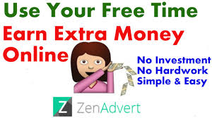 Your Free Online Online Extra Earning Using Our Free Time Free Earning India