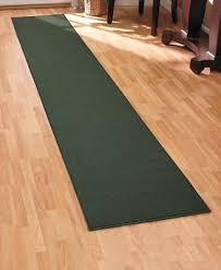 extra long nonslip floor runner rug w latex backing 120 hunter green