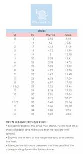 Express Shoe Size Chart 27 Best Kids Sizing Charts Images Cheap Kids Clothes