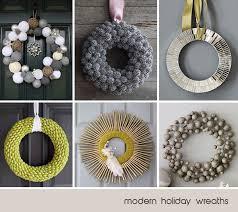 Modern wreath