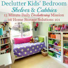 How To Get Rid Of Kids Bedroom Clutter