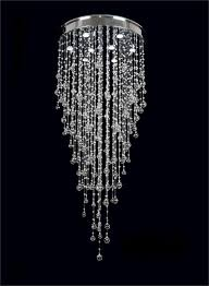 cool faux crystal chandeliers fake chandelier for bedroom black background light hinging crystal sparkle