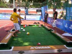 life size pool table life size pool table a game of pool that you play with your feet