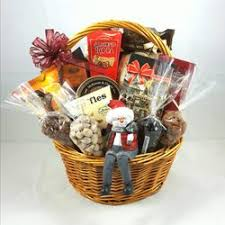 photo of red red white gift baskets edmonton ab