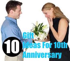 10 year wedding anniversary tin gift ideas new best 10 year wedding 10th wedding anniversary gift ideas for tin wedding anniversary image collections