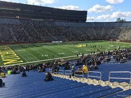Michigan Stadium Club Level Seating Chart Michigan Stadium Section 5 Rateyourseats Com
