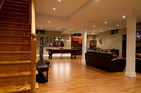 basement remodeling ideas low ceilings 014