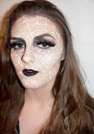 spider web makeup by mirandajory