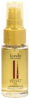 Купить <b>масло для волос</b> Londa Professional <b>Velvet</b> Oil Argan Oil 30 ...