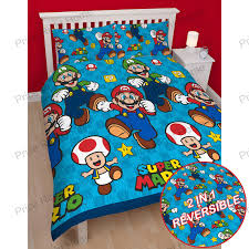 Mario Bros Bedroom Decor Official Nintendo Super Mario Brothers Bedding Duvet Cover Sets