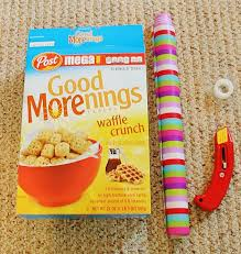 Magazine Holder From Cereal Box Cereal Box Magazine Holder 14