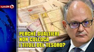 IL MERCATO OFFRIVA 105 MILIARDI PER IL DEBITO ITALIANO, MA IL MINISTRO DELL' ECONOMIA NON LI HA PRESI - City Milano News