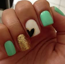 Simple Nail Design Ideas Best 25 Heart Nail Art Ideas On Pinterest Heart Nails Simple Nails And Simple Nail Designs