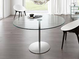 Italian Glass Dining Table Nella Vetrina Tonelli Farniente Alto Modern Italian Glass Dining Table