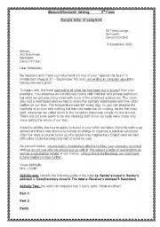 Letter Of Complaints Sample Analysis How Seriously Will Legislature Consider U S Sugar Land