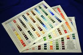 Hand Made Unison Colour Charts Studio Charts