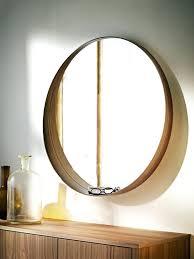 large round wood mirror mirrors wood circle mirror round wood mirror wooden frame of round mirror