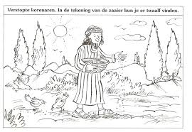 Verstopte Korenaren In De Tekening Van De Zaaier Kun Je Er Twaalf