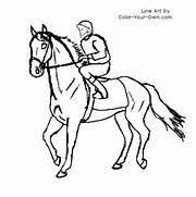 Small Picture Realistic Race Horse Coloring Pages pr energy