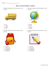 163 FREE Singular/Plural Nouns Worksheets