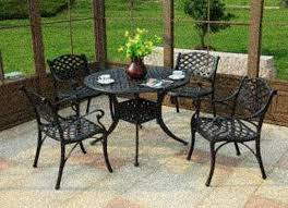 Patio Dinning Set patio stone tile