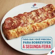 Cheese Bread Calabresa 4 Queijos E Dominos Pizza São Carlos